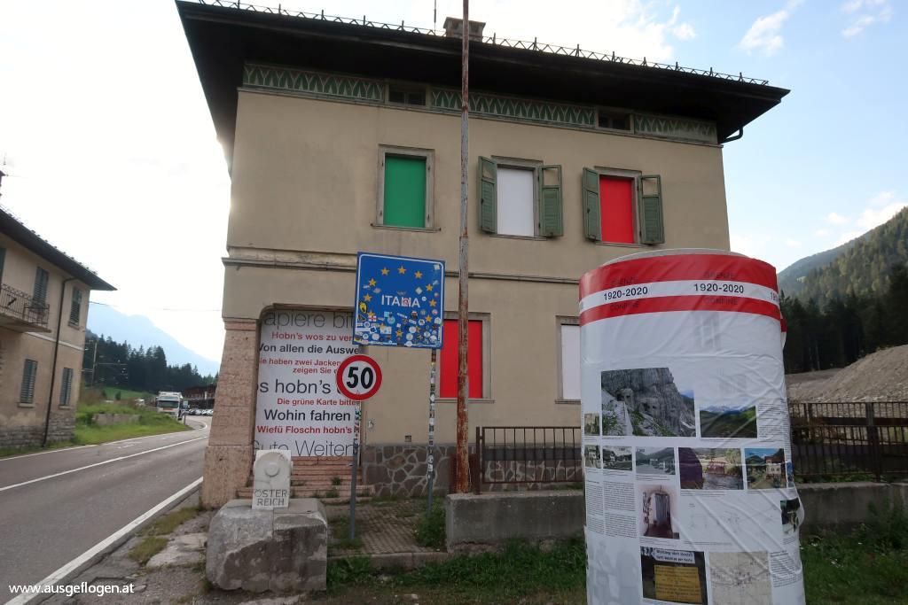 Grenzübergang Winnebach Osttirol Südtirol Pustertal