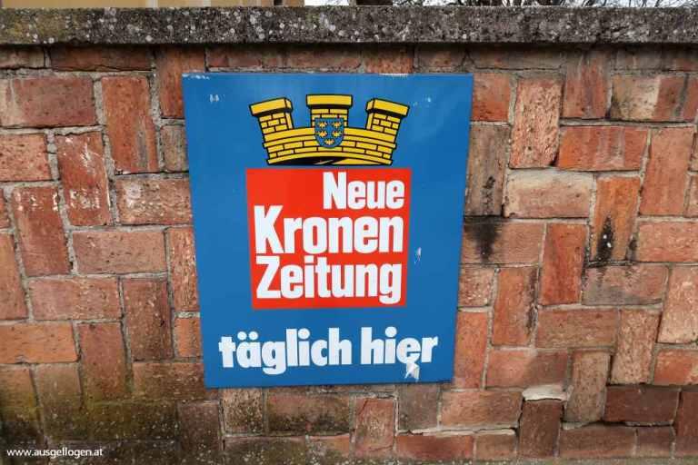 alte Schilder Österreich