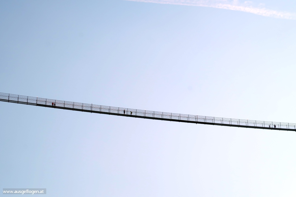 Fernpass Bundesstraße Hängebrücke Highline 179