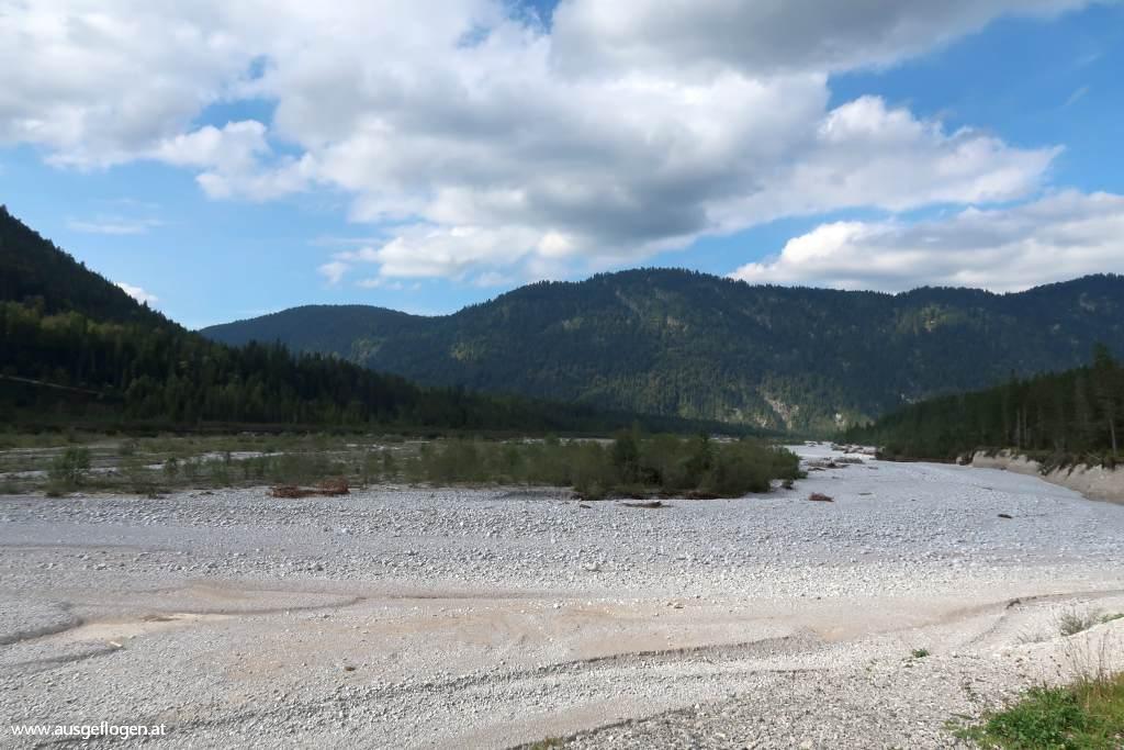 Rißbach Exklave Hinterriß Grenze Deutschland Österreich