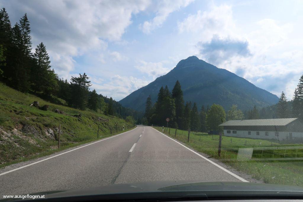 Exklave Hinterriß Grenze Deutschland Österreich