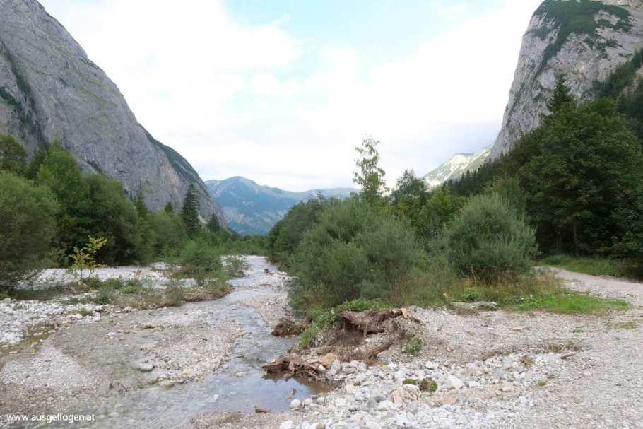 Eng im Talgrund Rißtal Tirol schöne Orte