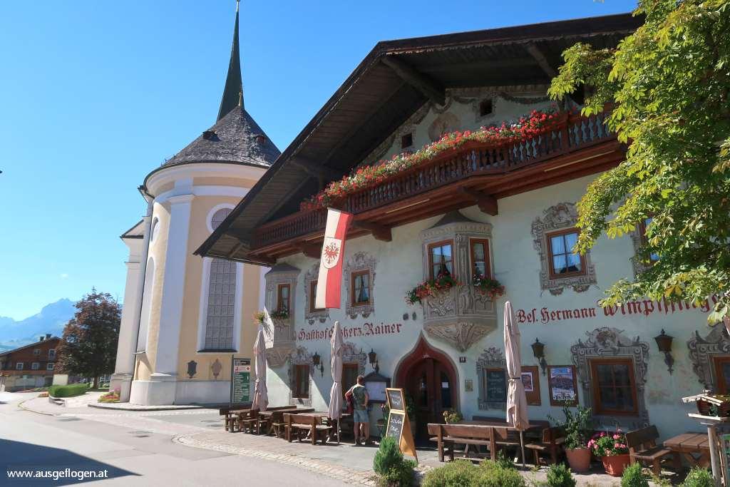 Kaiserwinkl Urlaub Tirol Kössen