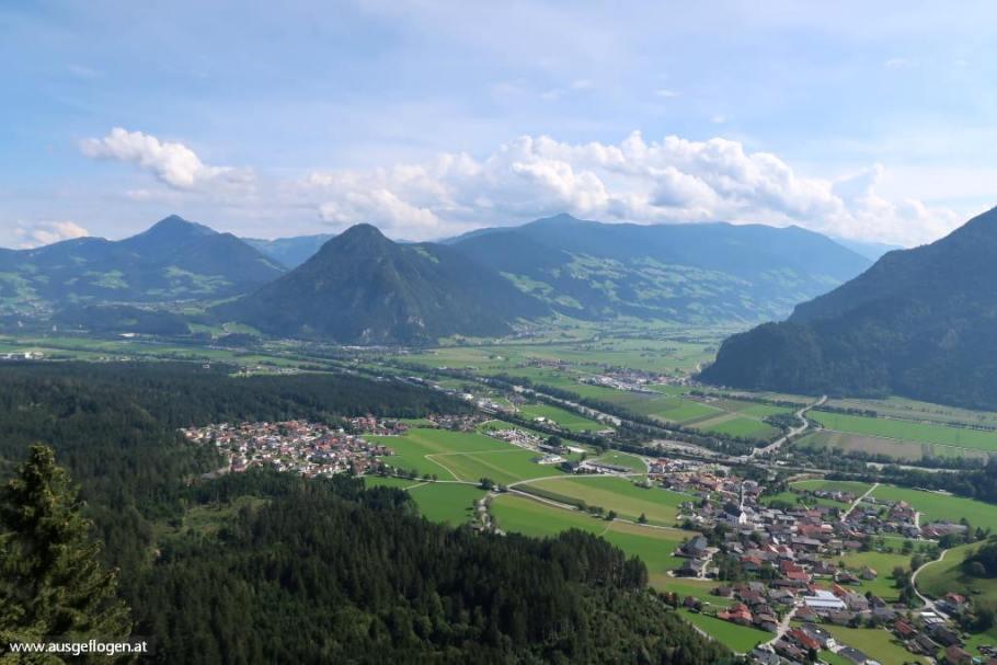 Kanzelkehre Ausblick Inntal Tirol schöne Orte