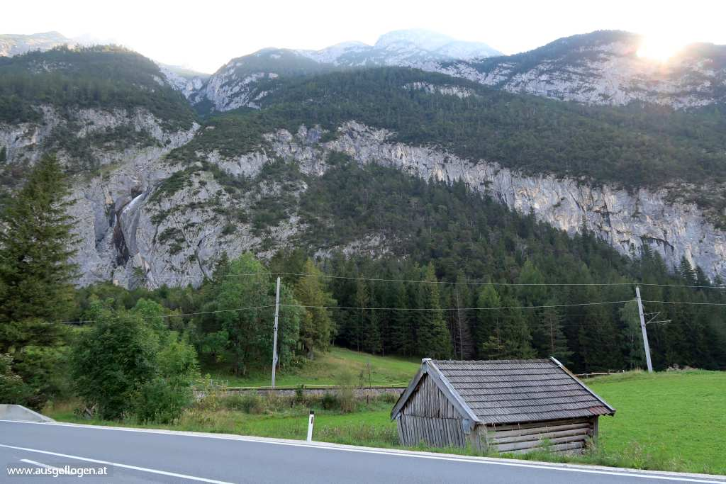 Porta Claudia Scharnitzpass Karwendel