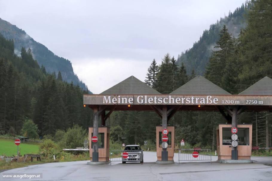 Kaunertaler Gletscherstraße Maut