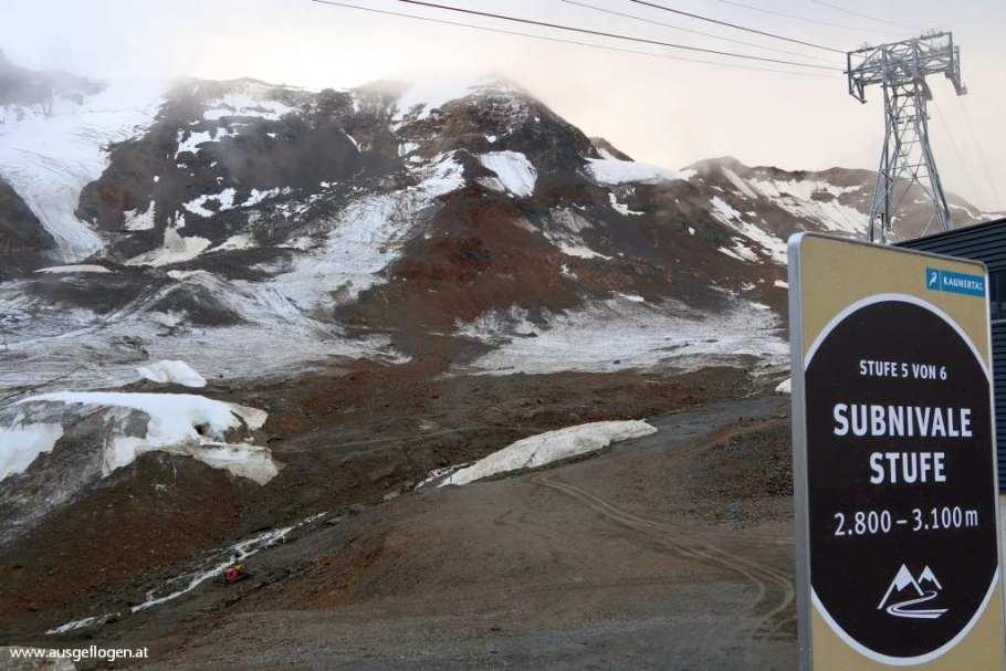 Höhenstufe 5 der Kaunertaler Gletscherstraße