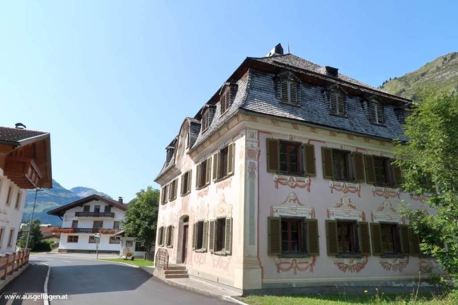 Holzgau im Lechtal Lüftlmalerei