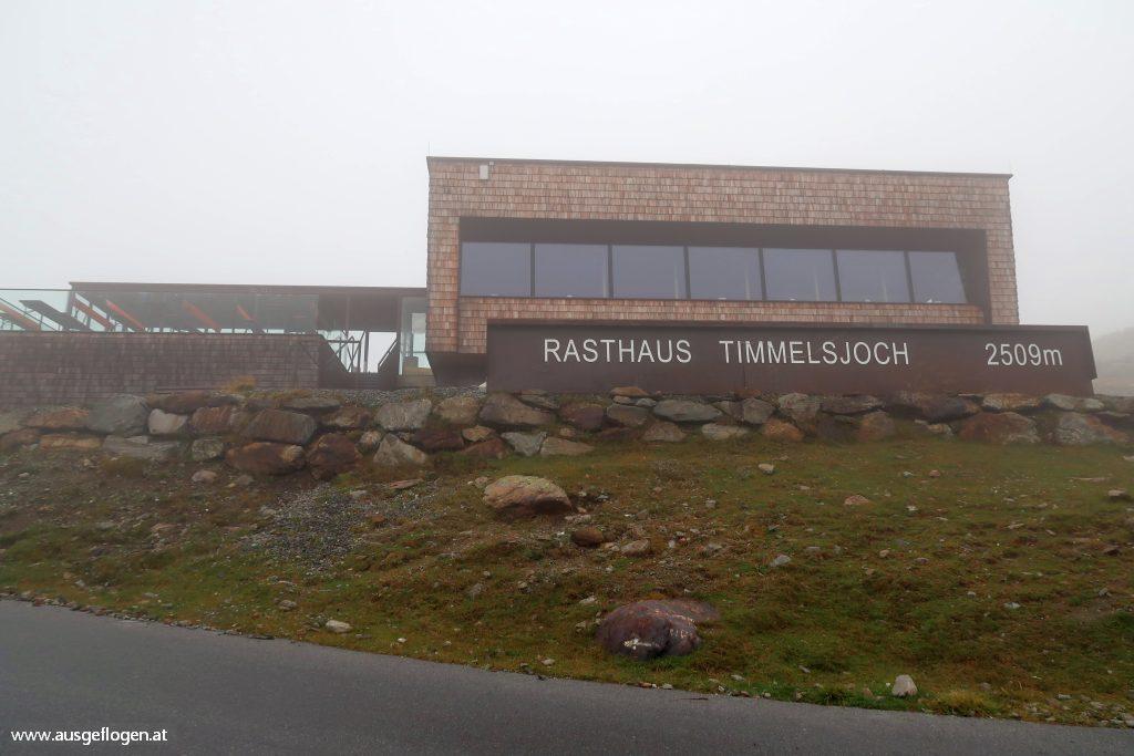 Timmelsjoch Hochalpenstraße Passhöhe