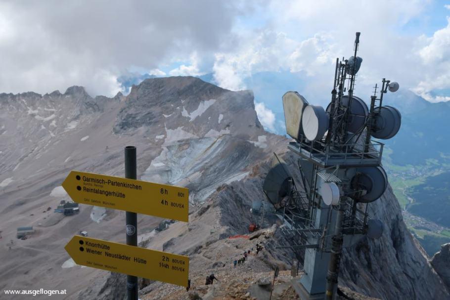 Gletscher am Zugspitzplatt