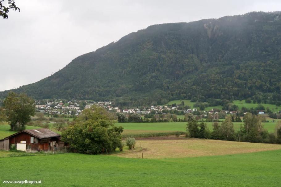 Grenzübergang Österreich Liechtenstein
