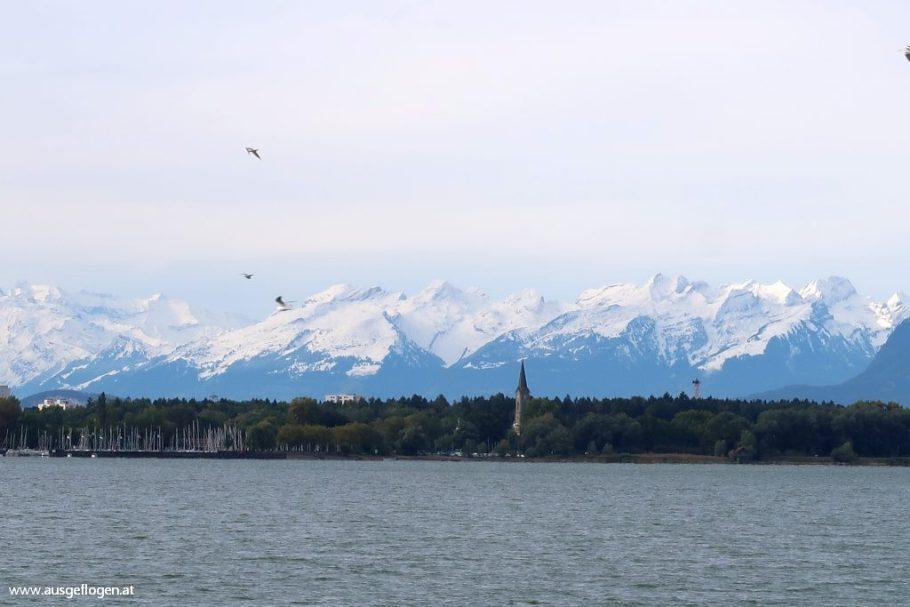 schöner Blick Bodensee
