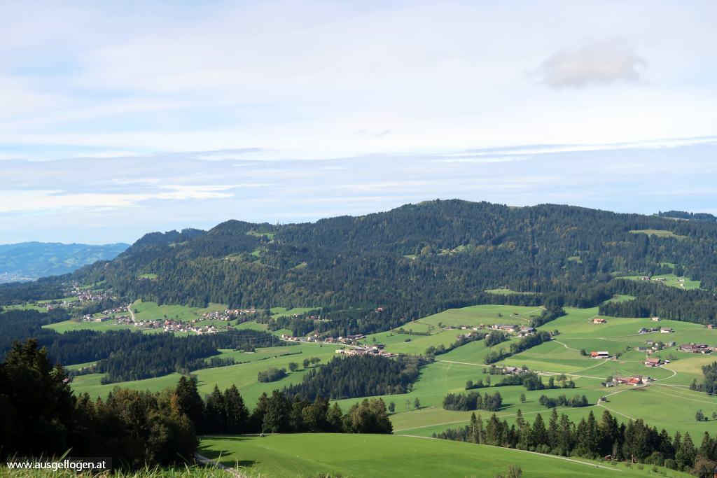 Hügelland vorderer Bregenzerwald