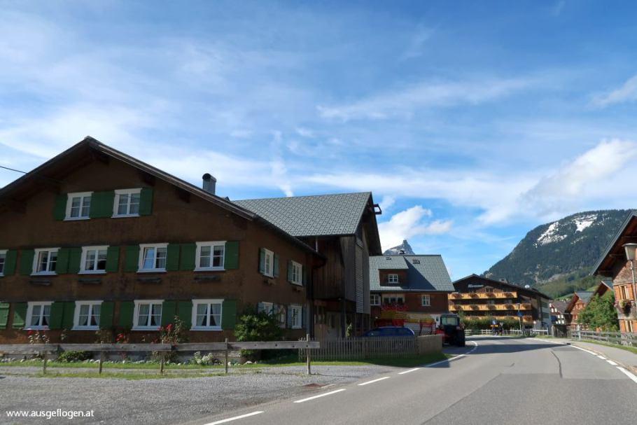 Schoppernau Ausflugsziel Bregenzerwald