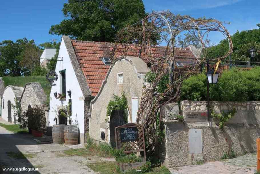 Winden historisches Kellerviertel Burgenland