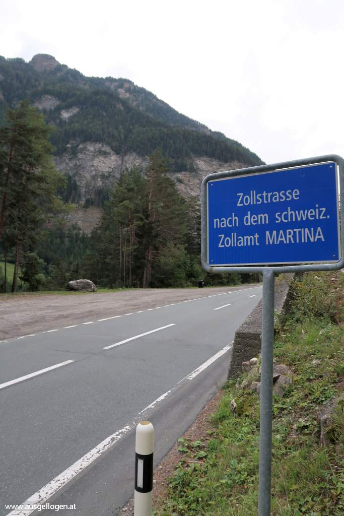 Oberinntal Dreiländereck Engadiner Straße