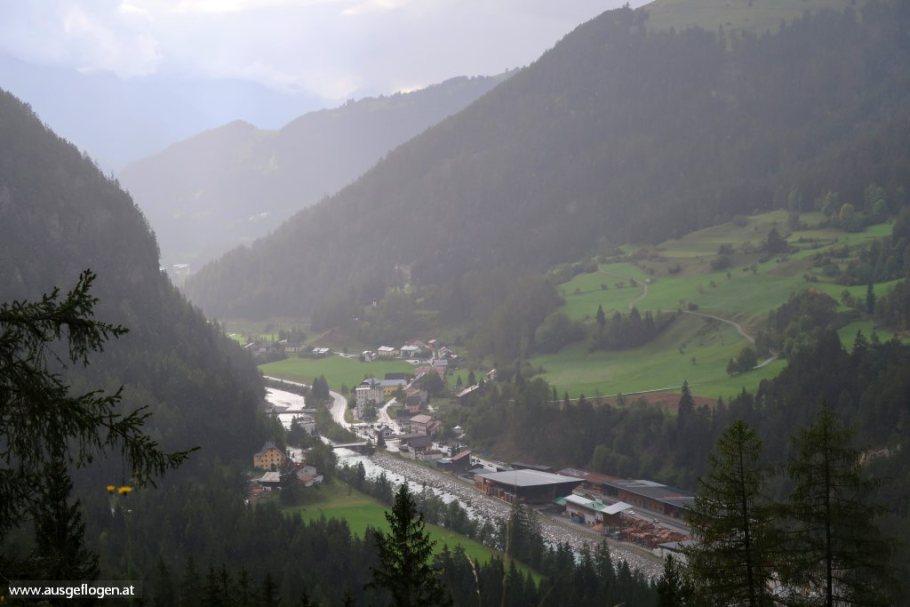 Grenzübergang Martina Reschenpass