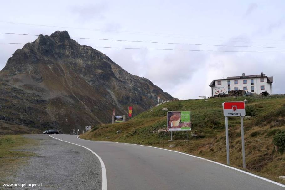 Silvretta Hochalpenstraße Kleinvermunt