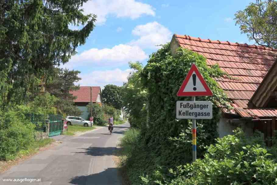 Paradiesroute Südburgenland Eisenberg Weinberg Anstieg