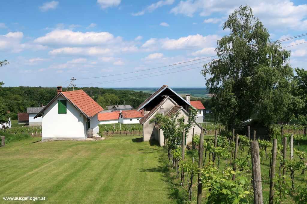 Paradiesroute Südburgenland Etappen Kellerstöckl
