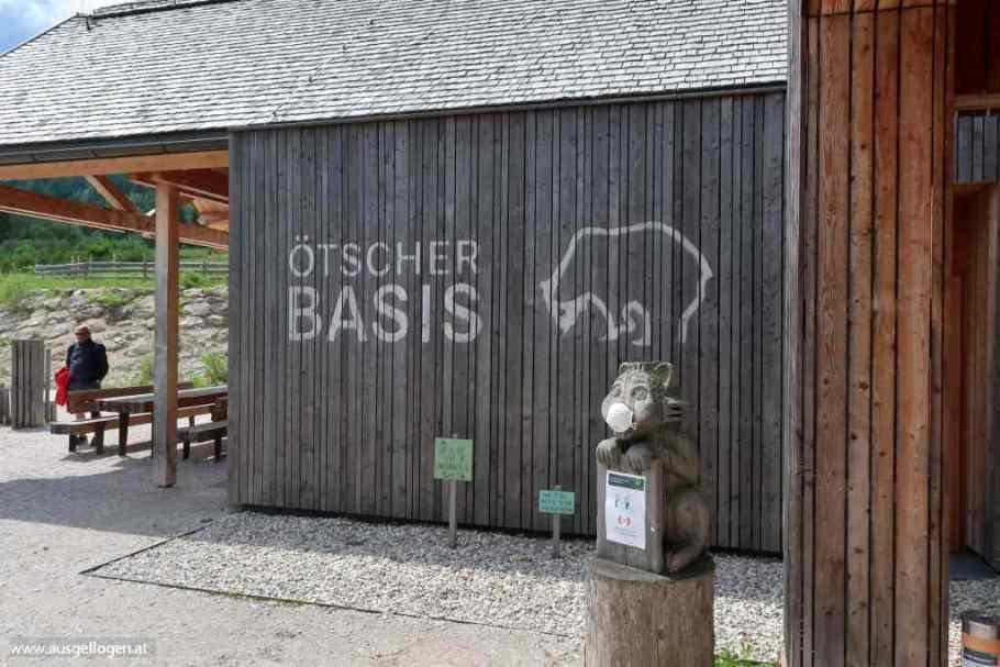 Wandern Ötschergräben Einstieg Wienerbruck
