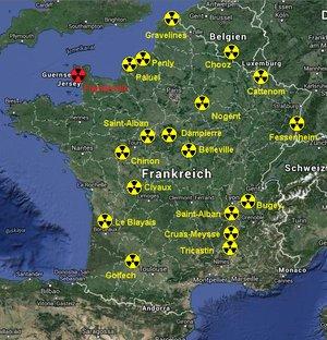 Atomkraftwerke in Frankreich
