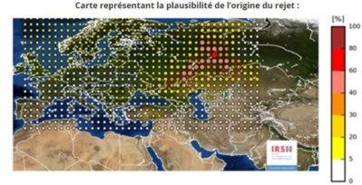 Oktober 2017: Erhöhte Ruthenium-106-Werte über Europa