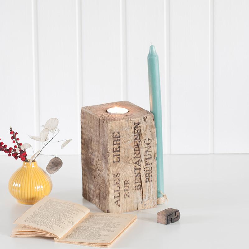 FÖRVANDLA - Kerzen- / Teelichthalter L Sonderanfertigung