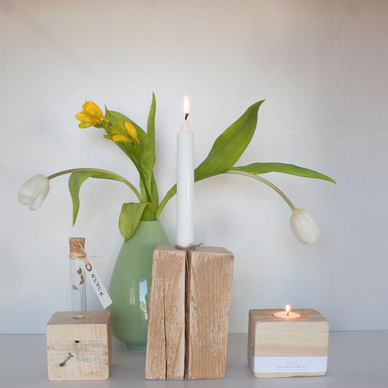 FÖRVANDLA - Kerzen- / Teelichthalter S, M und L