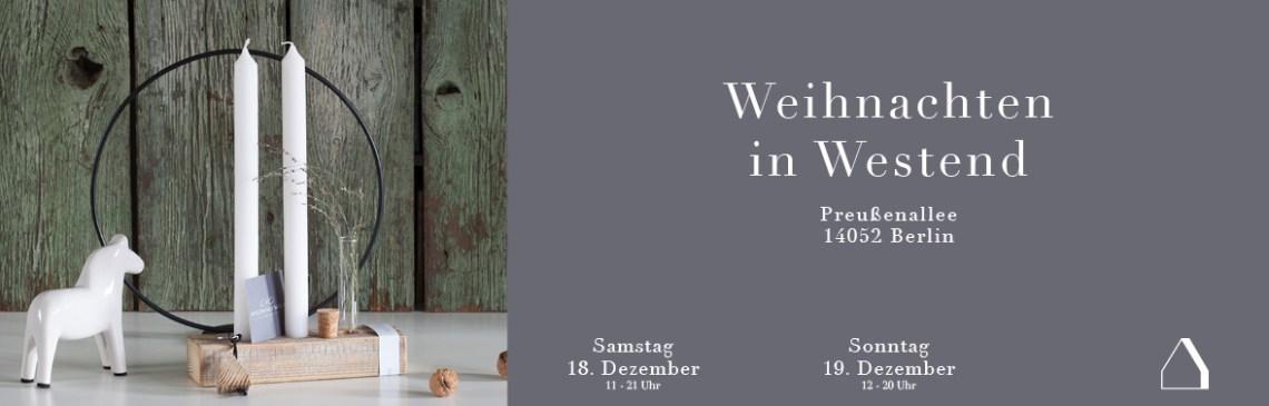 C&C HOLZMANUFAKTUR - Weihnachten in Westend am 18. und 19. Dezember 2021