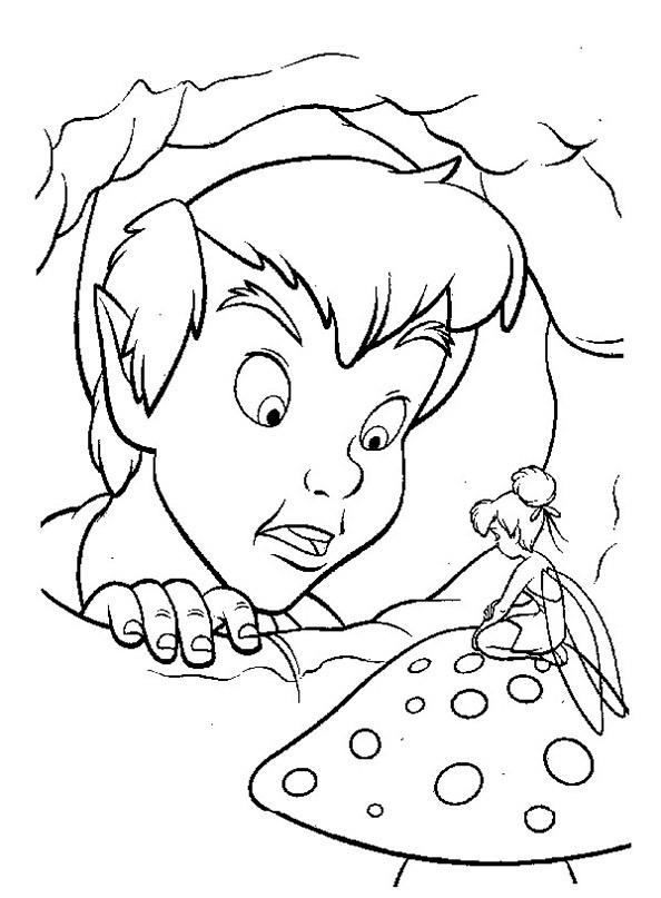 Peter Pan 5 Ausmalbild