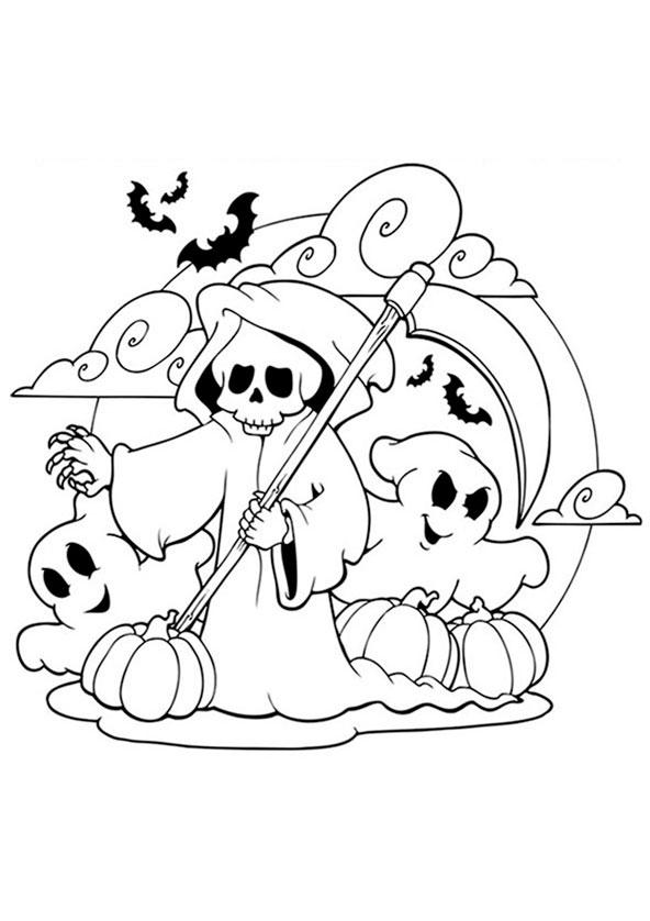 Halloween 17 Ausmalbild