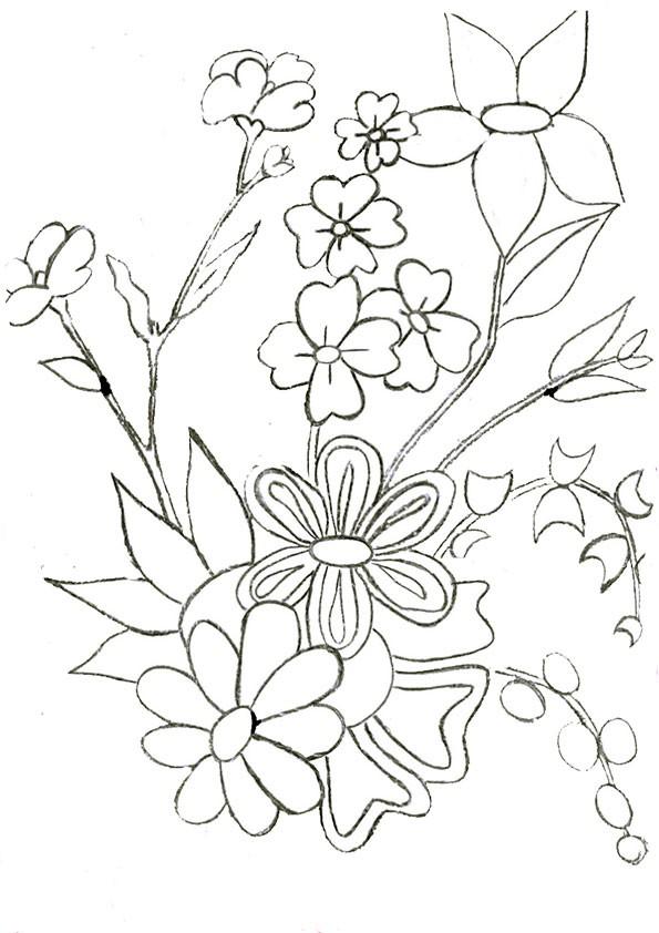 Ausmalbilder Blumen 21 Ausmalbilder Malvorlagen