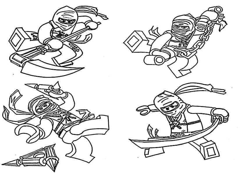 Ausmalbilder Ninjago 7 Ausmalbilder Malvorlagen