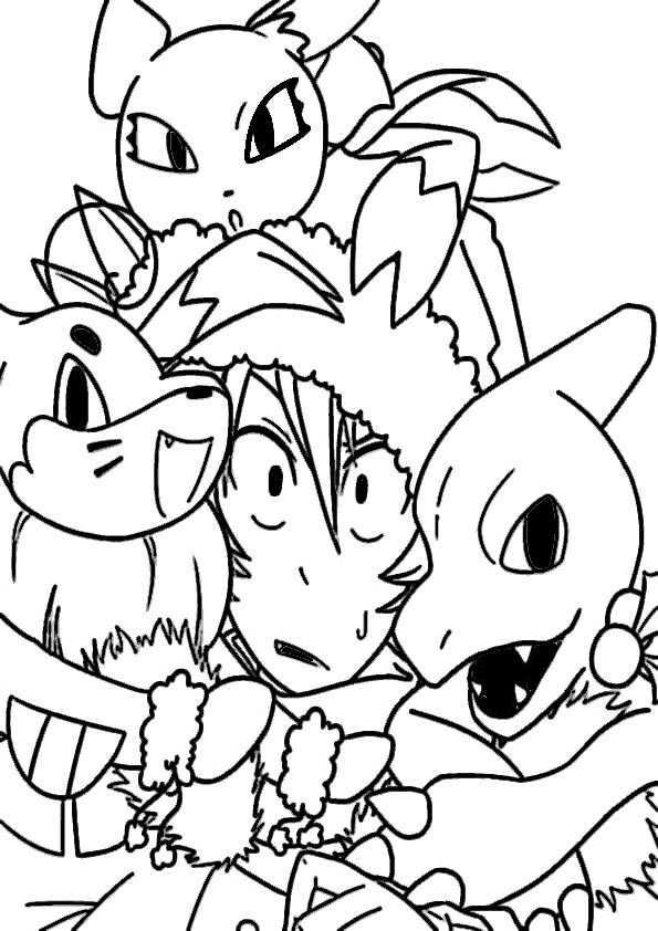 Ausmalbilder Pokemon 11 Ausmalbilder Malvorlagen