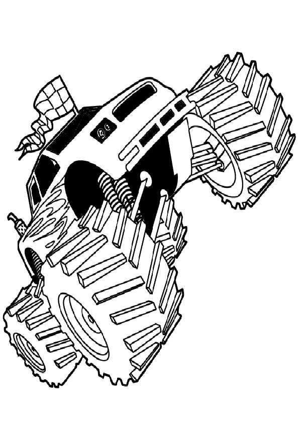 Ausmalbilder Monster Truck 9 Ausmalbilder Malvorlagen