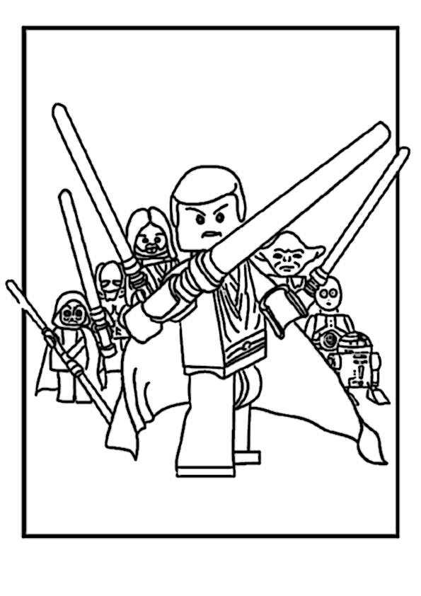 Star Wars Lego Ausmalbilder 2 Ausmalbilder Malvorlagen