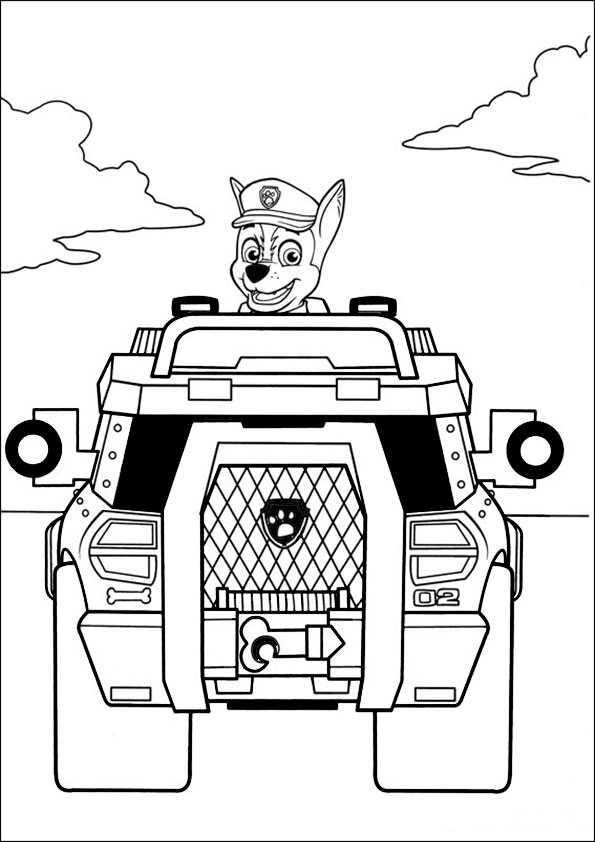 Paw Patrol 4 Ausmalbilder Und Basteln Mit Kindern
