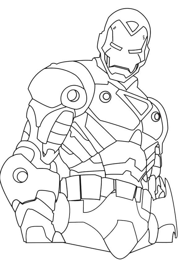 Ironman 5 Ausmalbilder Malvorlagen