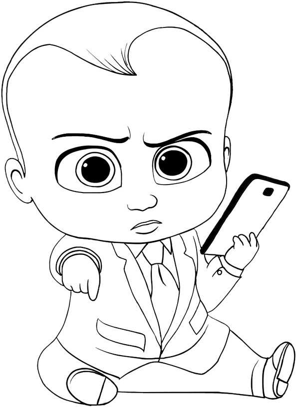 The Boss Baby 34 Ausmalbilder Malvorlagen