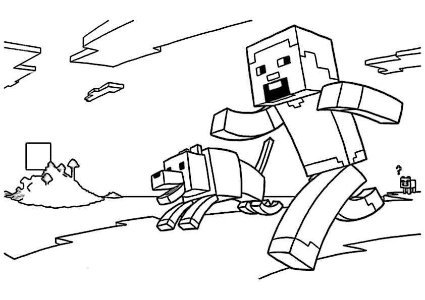 Minecraft 9 Ausmalbilder Malvorlagen