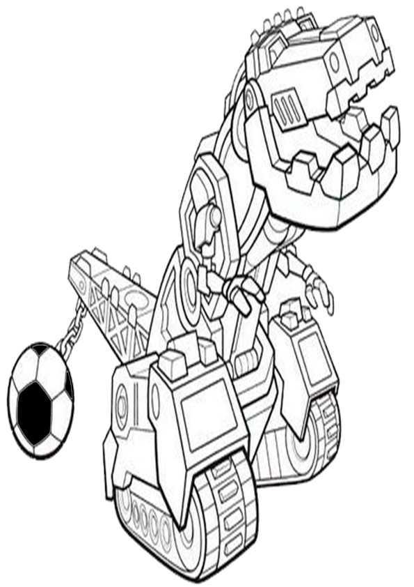 Dinotrux 5 Ausmalbilder Malvorlagen
