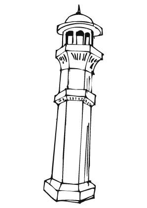 Ausmalbilder Turm Trme Malvorlagen