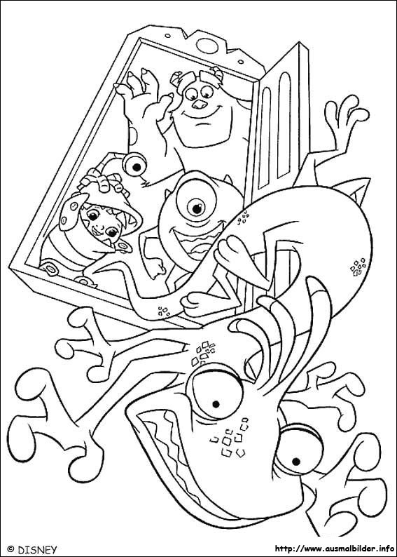 Die Monster AG Malvorlagen