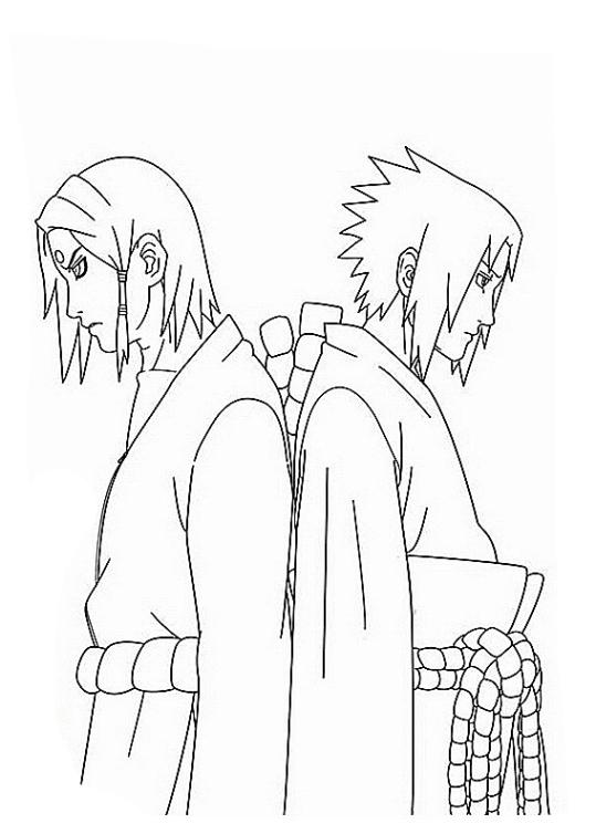 Ausmalbilder Fr Kinder Naruto 5