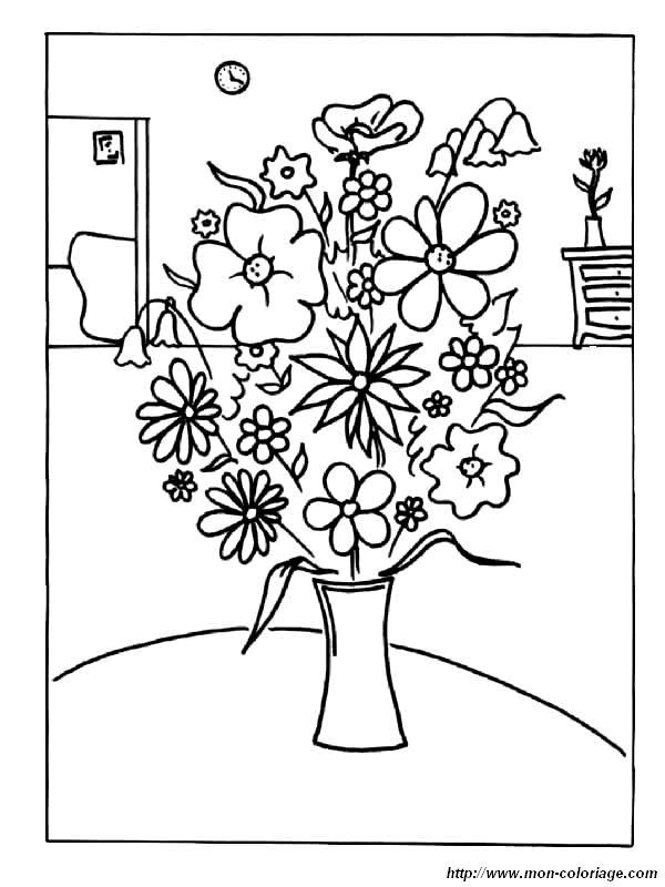 Ausmalbilder Blumen Bild Ausmalen Blumen