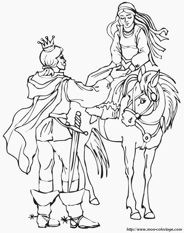 Ausmalbilder Prinzessin Und Prinz Bild Prinzessin Auf