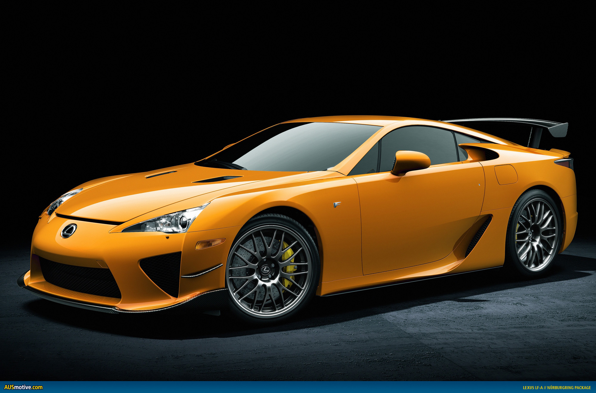 AUSmotive Is anyone ing the Lexus LFA Nürburgring Package