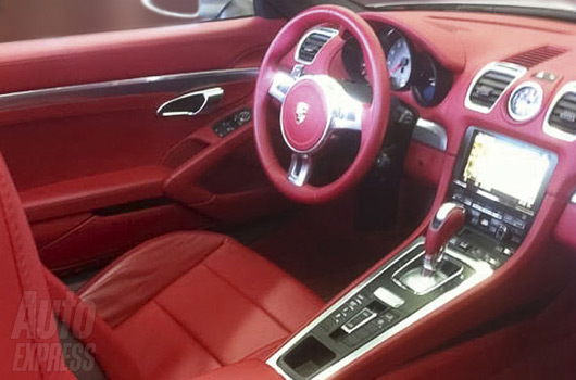 Porsche Boxster Interior Sees Red