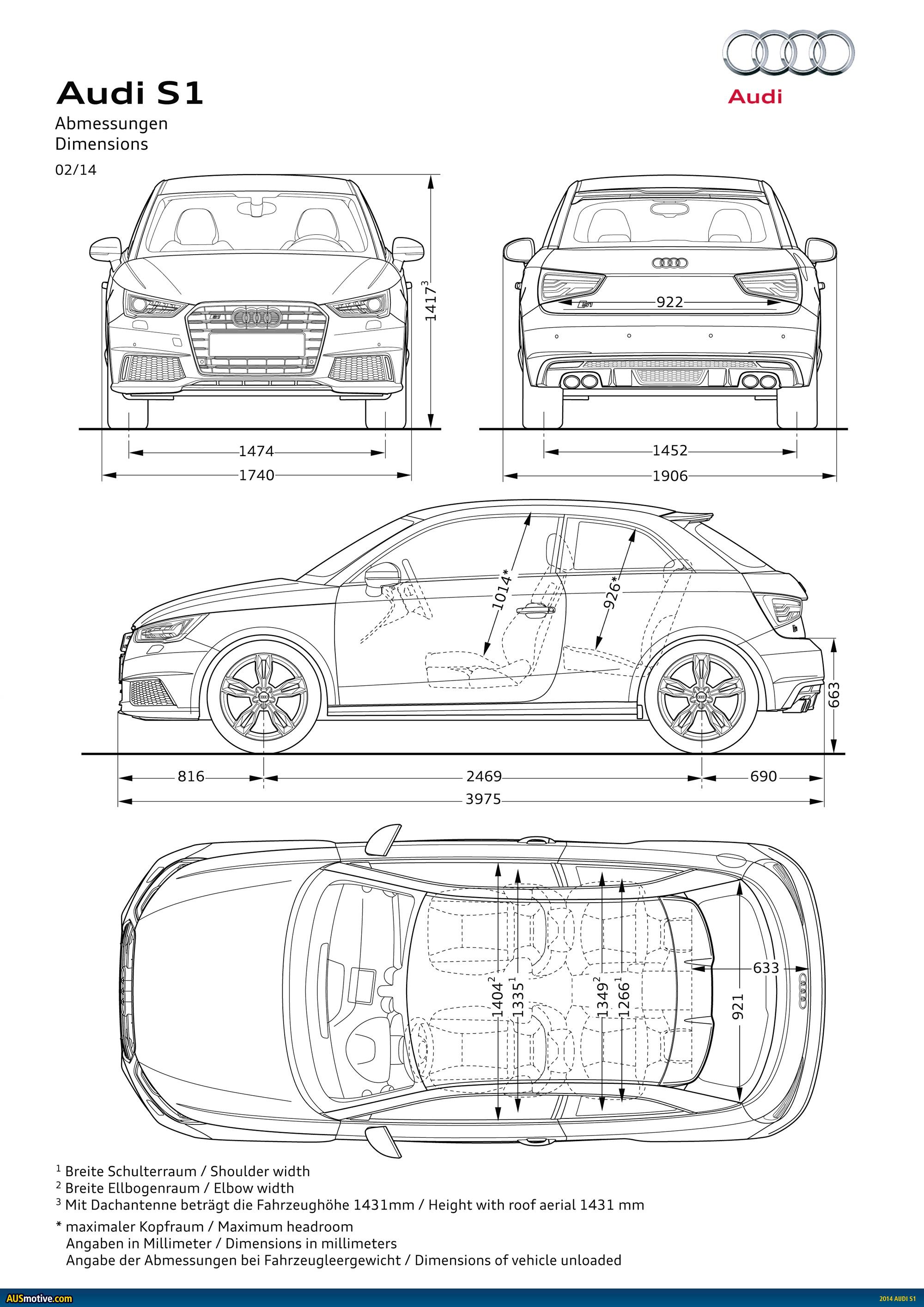 Ausmotive Audi S1 Amp S1 Sportback Revealed